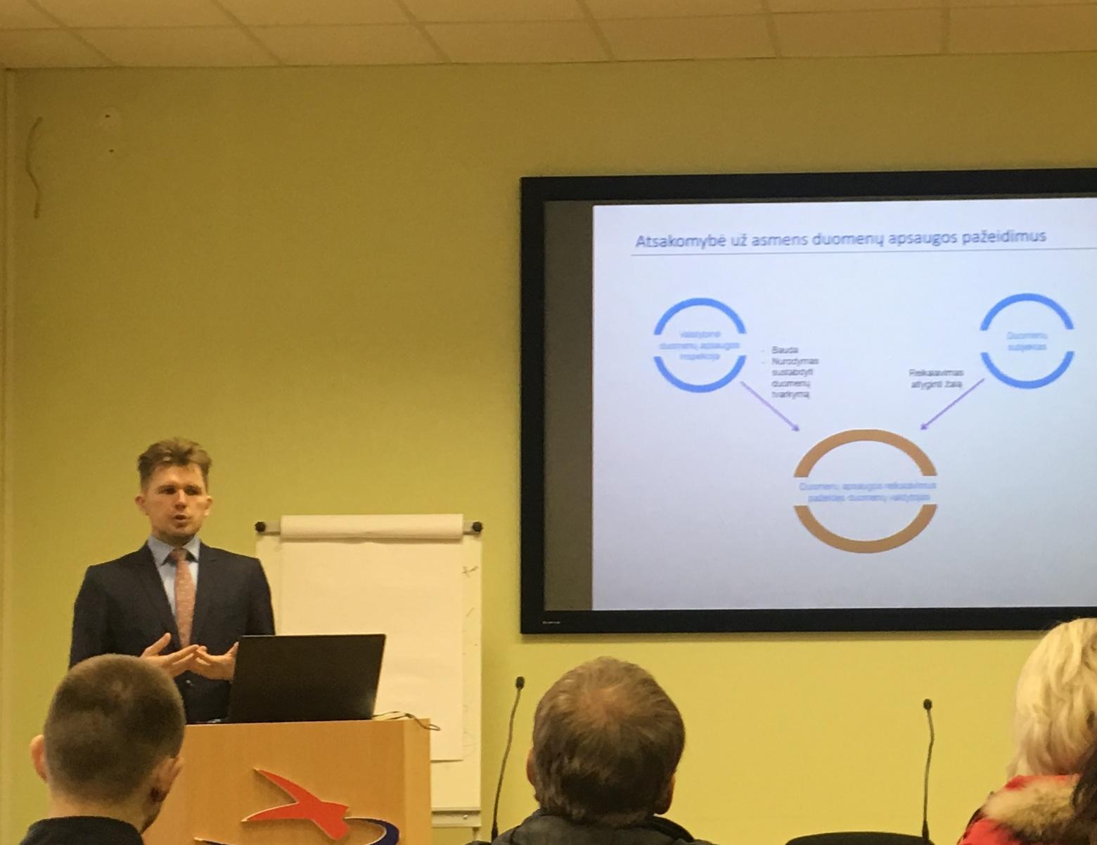 Asmens duomenų apsaugos ekspertas M. Valančius